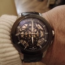 Perrelet Skeleton Chrono Steel 43.5mm