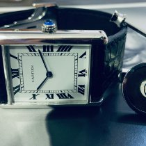 Cartier Tank Louis Cartier White gold 27mm White Roman numerals Singapore, Singapore