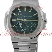 Patek Philippe Nautilus Moonphase, Black-Blue Dial - Stainless...