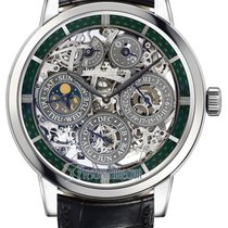 Jaeger-LeCoultre Master Grande Tradition Or blanc 42mm Transparent