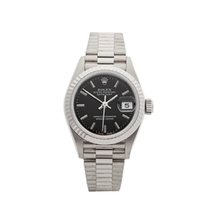 Rolex Datejust 18k White Gold Ladies 69179 - W4087
