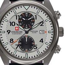 Swiss Military Hanowa Airborne Stahl 42mm Grau