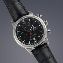 Alpina Alpiner stainless steel automatic chronograph watch
