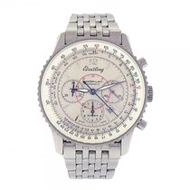 Breitling Montbrillant Navitimer Stainless Steel Automatic...