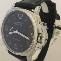 Panerai Luminor Due Acero 45mm Negro Arábigos