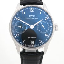 IWC IW500109 Acero 2009 Portuguese Automatic 42mm usados