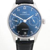 IWC Portuguese Automatic Acier 42mm Noir Arabes