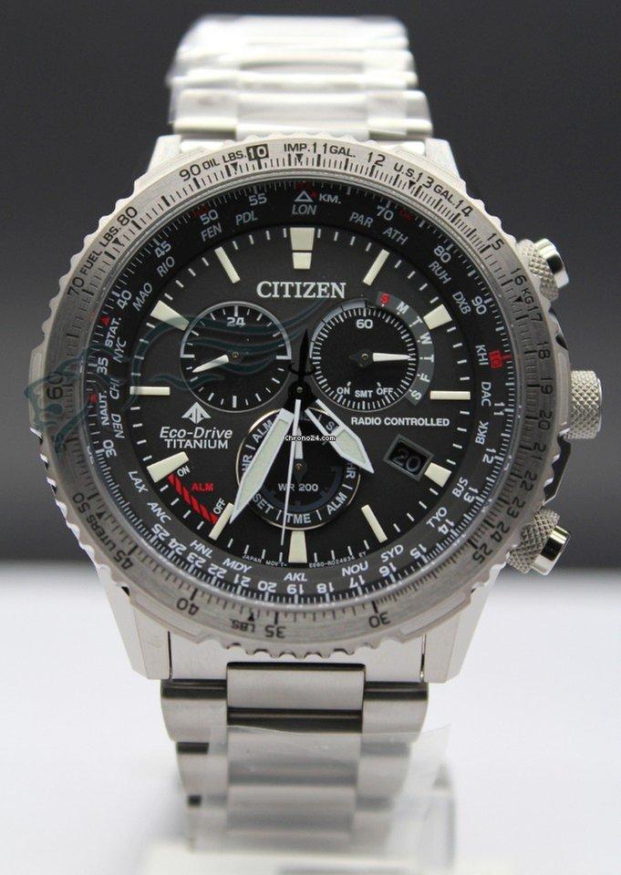 Citizen CB5010-81E Crono Pilot Super Titanio Radiocontroll... for Rs.  41 4dfa056f23