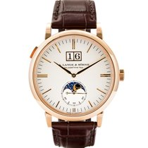 A. Lange & Söhne Saxonia Rose gold 40mm Silver United States of America, Massachusetts, Boston
