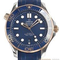 Omega Seamaster Diver 300 M Stahl 42mm Blau Keine Ziffern