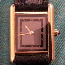 Cartier Sølv 21mm Kvarts 36600104718 brukt