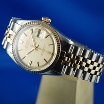 Rolex 36mm Automatic 1973 pre-owned Datejust (Submodel) Champagne