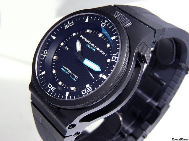 Porsche Design P\u20196780 Performance Diver 6780.45.43.1218 Titanium/PVD