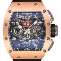 Richard Mille Chronograaf Automatisch 2012 tweedehands RM 011 Doorzichtig