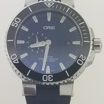 Oris Aquis Small Second new Automatic Watch with original box and original papers 743 7733 4135-07 4 24 65EB