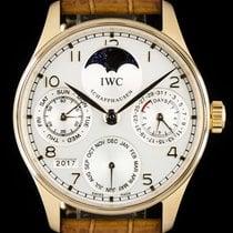 IWC Portuguese Perpetual Calendar Rose gold 42.5mm Silver Arabic numerals