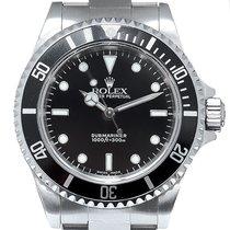 Rolex Submariner (No Date) Steel 40mm Black No numerals United Kingdom, London