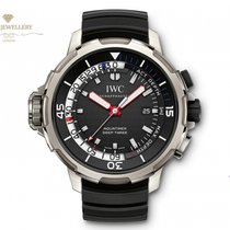 IWC Aquatimer Deep Three Titanium 46mm Black No numerals