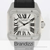 Cartier Santos 100 pre-owned 38mm