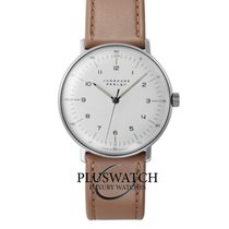 Junghans max bill Hand-winding Steel 34mm White Arabic numerals