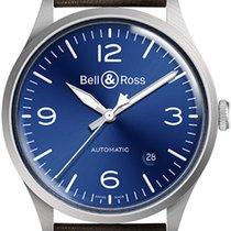 Bell & Ross BR V1 Сталь 38.5mm Синий Aрабские