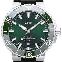 Oris Aquis Date Steel 43.5mm Green