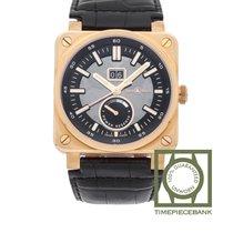 Bell & Ross BR 03-90 Grande Date et Reserve de Marche Oro rosado 42mm Transparente