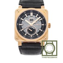 Bell & Ross BR 03-90 Grande Date et Reserve de Marche Rose gold 42mm Transparent