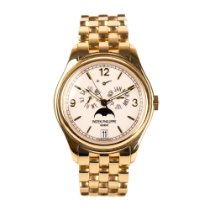 Patek Philippe Annual Calendar Yellow gold 39mm White