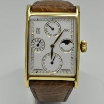 IWC Novecento Yellow gold 27mm White No numerals United States of America, Texas, Houston