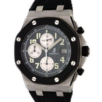 Audemars Piguet Royal Oak Offshore Chronograph Steel 42mm Black Arabic numerals Malaysia, Petaling Jaya