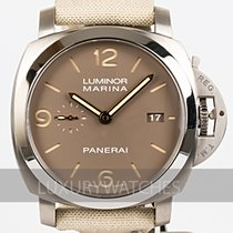 Panerai Luminor 1950 Titanium 44mm Brown