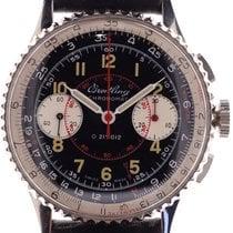Breitling Chronomat usados 36.5mm Negro Cronógrafo Año Cuero