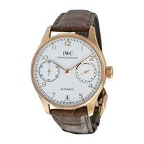 IWC Portuguese Automatic Yellow gold 42mm Silver