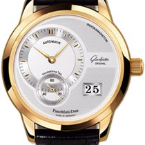 Glashütte Original PanoMaticDate Rose gold 39mm Silver No numerals United States of America, New York, Greenvale