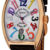 Franck Muller Rose gold Automatic Silver new Color Dreams
