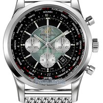 Breitling Transocean Chronograph Unitime new Automatic Chronograph Watch with original box