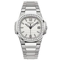 Patek Philippe 7010/1G-011 7010 Ladies Nautilus with Diamond...