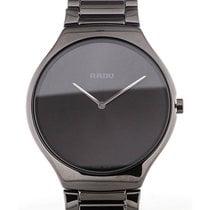 Rado True Thinline 39 Quartz Black Dial