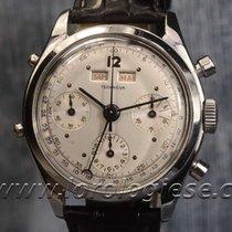 """Technicum Dato-compax Vintage 1940`s Steel """"watchmaker..."""