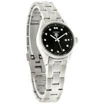 TAG Heuer Carrera Diamond Ladies Swiss Quartz Watch WV1410.BA0793