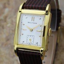 Waltham Swiss Made 1940s Men's Gold Filled Manual Vintage...