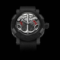 Romain Jerome Steel 50mm Automatic TATTOO BLACK RED RJ.T.AU.TT.002.02 new United States of America, Pennsylvania, Southampton