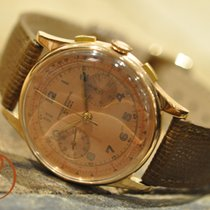 Chronographe Suisse Cie Or rose 37,5mm Remontage manuel 259 occasion