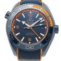 Omega Seamaster Planet Ocean Ceramic 46mm Blue United States of America, New York, New York