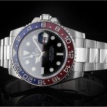 Rolex GMT-Master II (40mm) Ref. 116719BLRO Weißgold Box &...