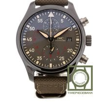 IWC Pilot Chronograph Top Gun Miramar Ceramic 44.5mm Grey Arabic numerals