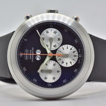 Ikepod 44mm Automatic pre-owned Hemipode Black