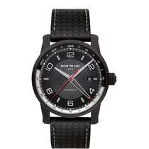 Montblanc Steel 42mm Automatic 113876 new