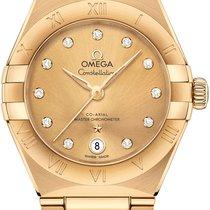 Omega Constellation Ungetragen Gelbgold 29mm Automatik